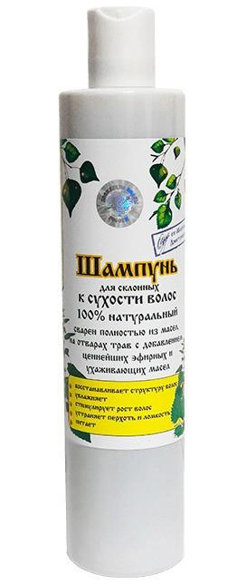 Luonnollinen shampoo kuiville hiuksille ja koko keholle, 350 ml